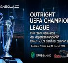 BONUS OUTRIGHT EUFA CHAMPIONS LEAGUE 2018 SEPAKBOLACC