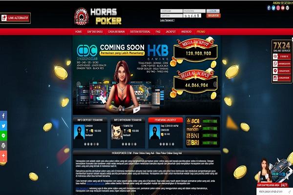 Informasi Link Alternatif Poker Online Horaspoker