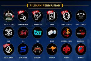 Judi Poker DominoQQ | Agen Bola | Togel Online | Casino Online
