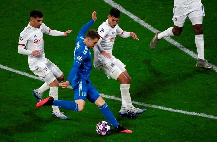Juventus Kalah oleh Lyon, ini kata Ramsey!